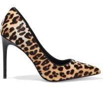 Creda Leopard-print Calf Hair Pumps