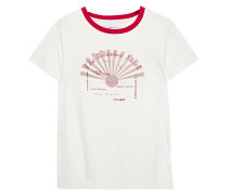 The Retro Crew Printed Cotton-jersey T-shirt