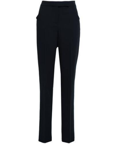 Virgin Wool Straight-leg Pants Midnight Blue