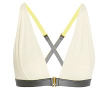 Knox Stretch-jersey And Neoprene Soft-cup Bra Weiß
