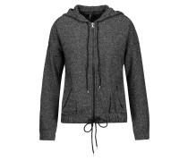 Hueneme Stretch-knit Hooded Jacket Dunkelgrau