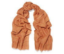 Connie Cotton, Cashmere And Silk-blend Scarf Camel