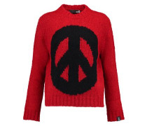 Peace intarsia-knit sweater