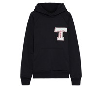 Appliquéd French Cotton-blend Terry Hoodie