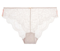 Cle D'amour Low-rise Lace Briefs Flieder