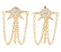 Rigel Gold-tone Crystal Earrings