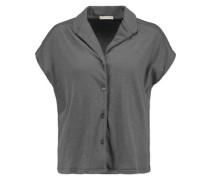 Stretch-cotton pajama top