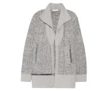 Wool Cardigan Hellgrau