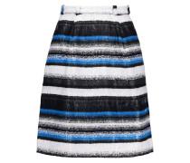 Belted Bouclé Mini Skirt Kobaltblau