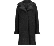 Denise Wool And Mohair-blend Coat Schwarz