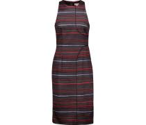 Printed Stretch-cotton Dress Mehrfarbig