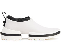 Sw-612 Leather Slip-on Sneakers
