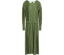 Jacquard-knit Midi Dress