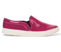 Patent-leather Sneakers Pink