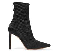 Matelassé Ankle Boots