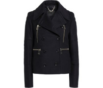 Anslow wool and cashmere-blend jacket