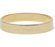Gold-tone Enamel Bracelet Ivory