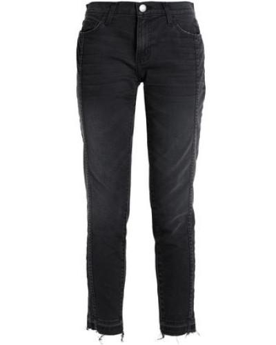 The Seamed Easy Stiletto Mid-rise Slim-leg Jeans Black  3