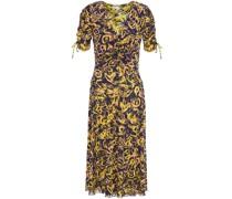 Wade Wendbares Kleid aus Stretch-mesh mit Raffungen und Print