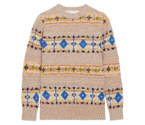 Wool And Alpaca-blend Sweater