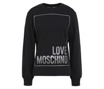 Appliquéd French Cotton-blend Terry Sweatshirt
