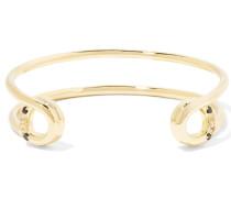 Mora Gold-tone Crystal Cuff