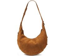 Nubuck Shoulder Bag
