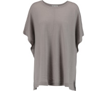 Cashmere Poncho Taupe