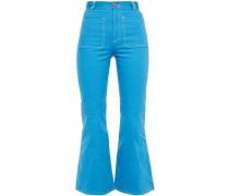 Woman High-rise Kick-flare Jeans Azure