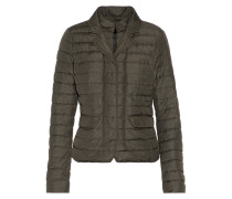 Egina Quilted Shell Down Jacket Armeegrün