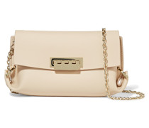 Eartha Leather Shoulder Bag Creme