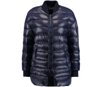 Quilted Padded Shell Jacket Rauchblau