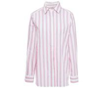 Star Petite Amie Gestreiftes Hemd aus Popeline aus Einer Baumwollmischung