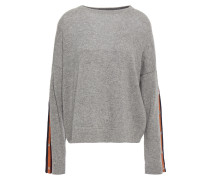 Striped Mélange Cashmere Sweater