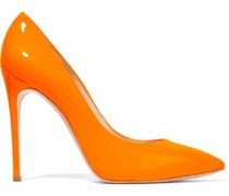 Neon patent-leather pumps