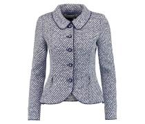 Two-tone Woven Jacket Rauchblau