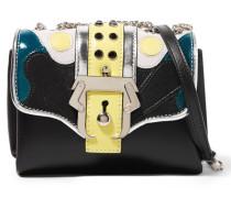 Kate Leather Shoulder Bag Schwarz