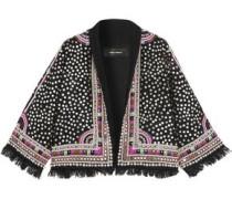 Baikal embroidered embellished wool jacket