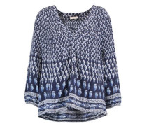 Sonoma printed washed-silk blouse