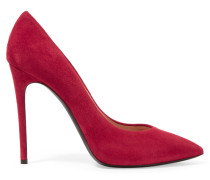 Suede Pumps Rot