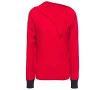 Draped Wool Sweater