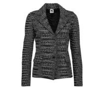 Crochet-knit blazer