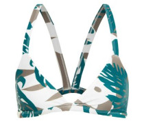 Honolulu cutout triangle bikini top