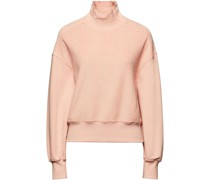 Paneled French Cotton-blend Terry Sweatshirt
