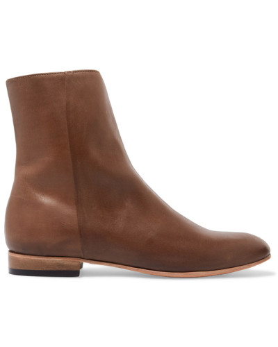 Rod Leather Boots Braun