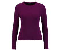 Fluted Cashmere Sweater Lila