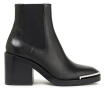 Hailey Leather Ankle Boots