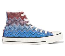Printed Canvas Sneakers Mehrfarbig