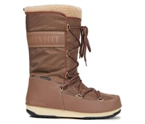 Monaco Faux Shearling-trimmed Shell Snow Boots