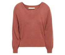 Pullover aus Einer Leinenmischung
